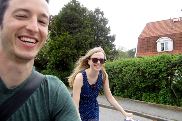 Bike Ride To Saltholmens
